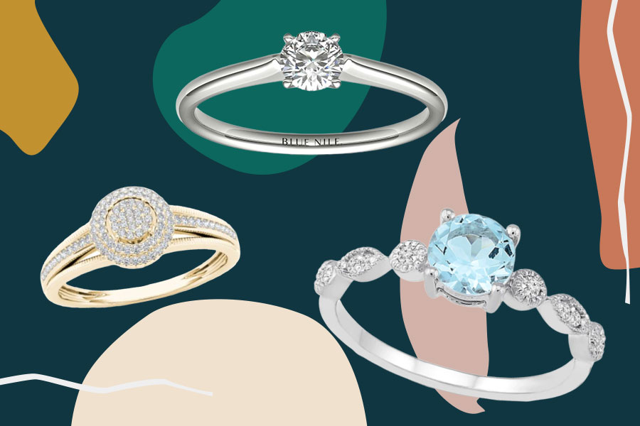 cheap engagement rings