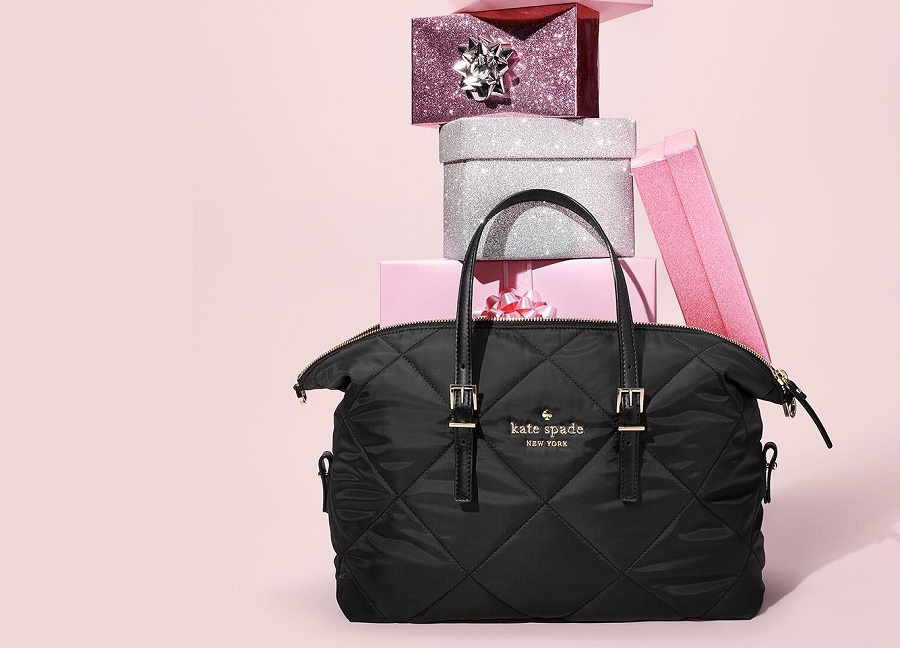 kate spade bag with presents