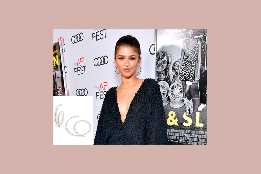 zendaya wearing kendra scott affordable earrings