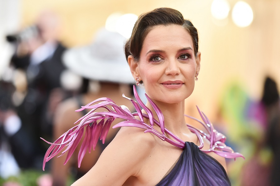 katie holmes at the 2019 met gala