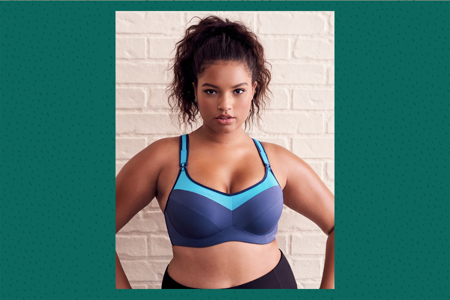 best plus size sports bras