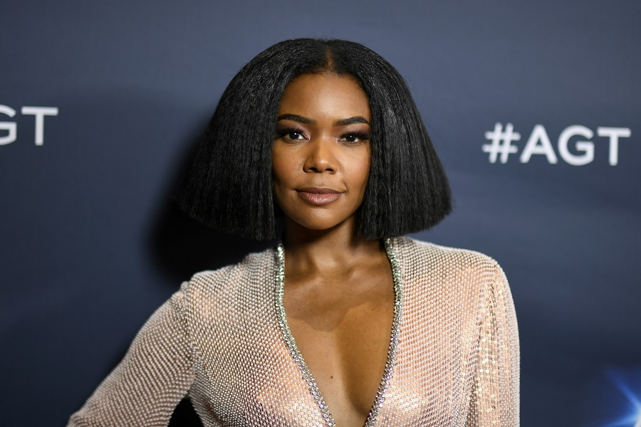 gabrielle union on the america's got talent red carpet
