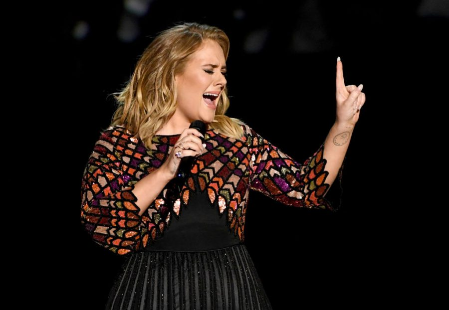 adele performing at the grammys most popular songs