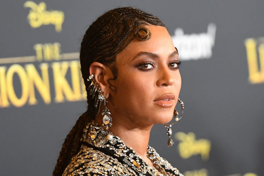beyonce at lion king premiere