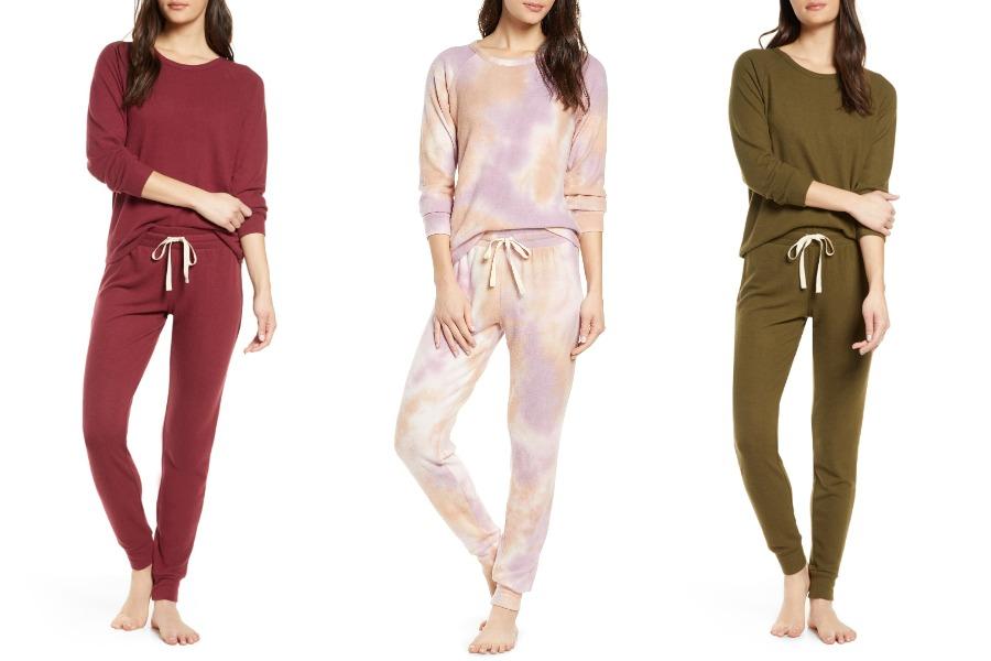 nordstrom cozy pajamas