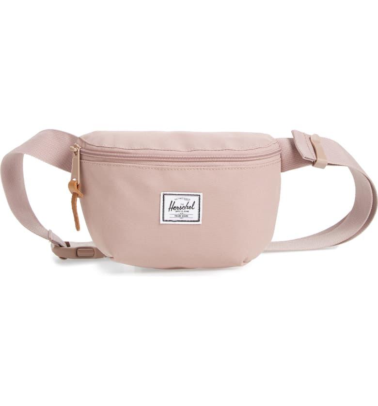 herschel belt bag in pink from nordstrom