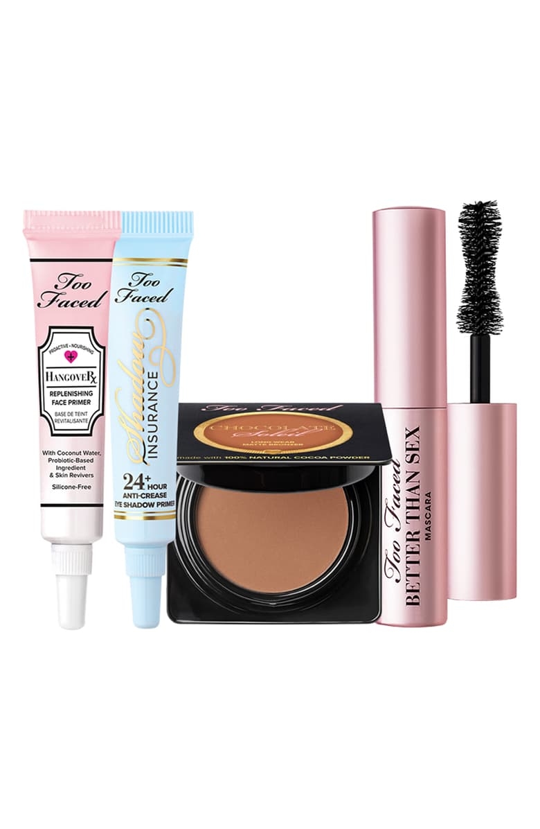 too faced travel gift set from nordstrom