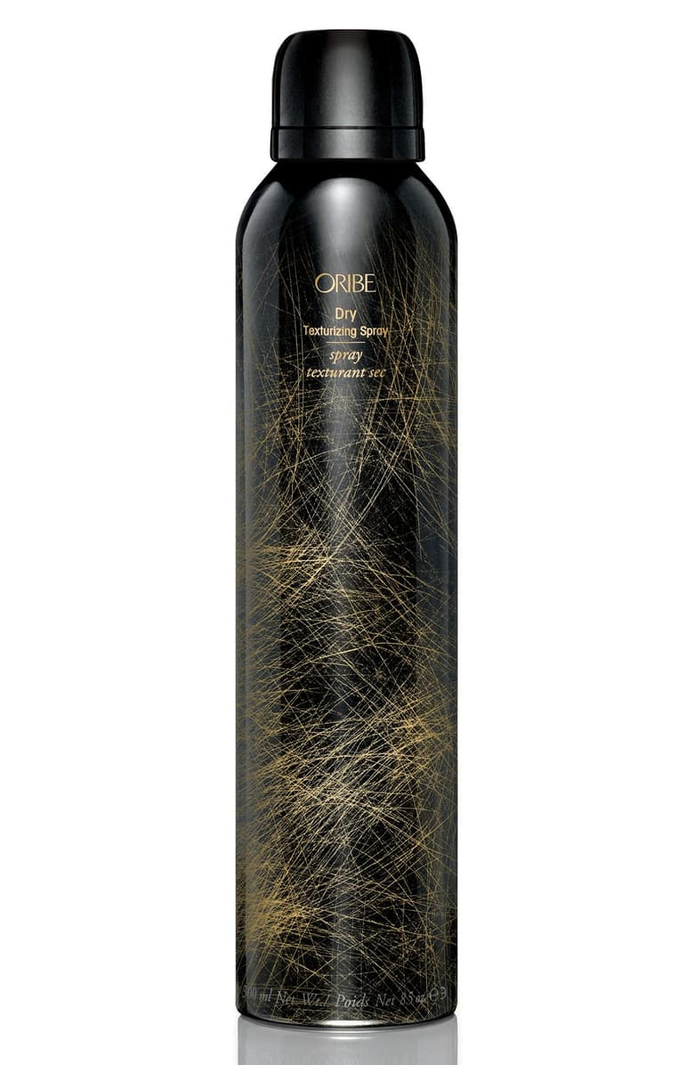 oribe dry texturizing spray for curling hair with flat iron