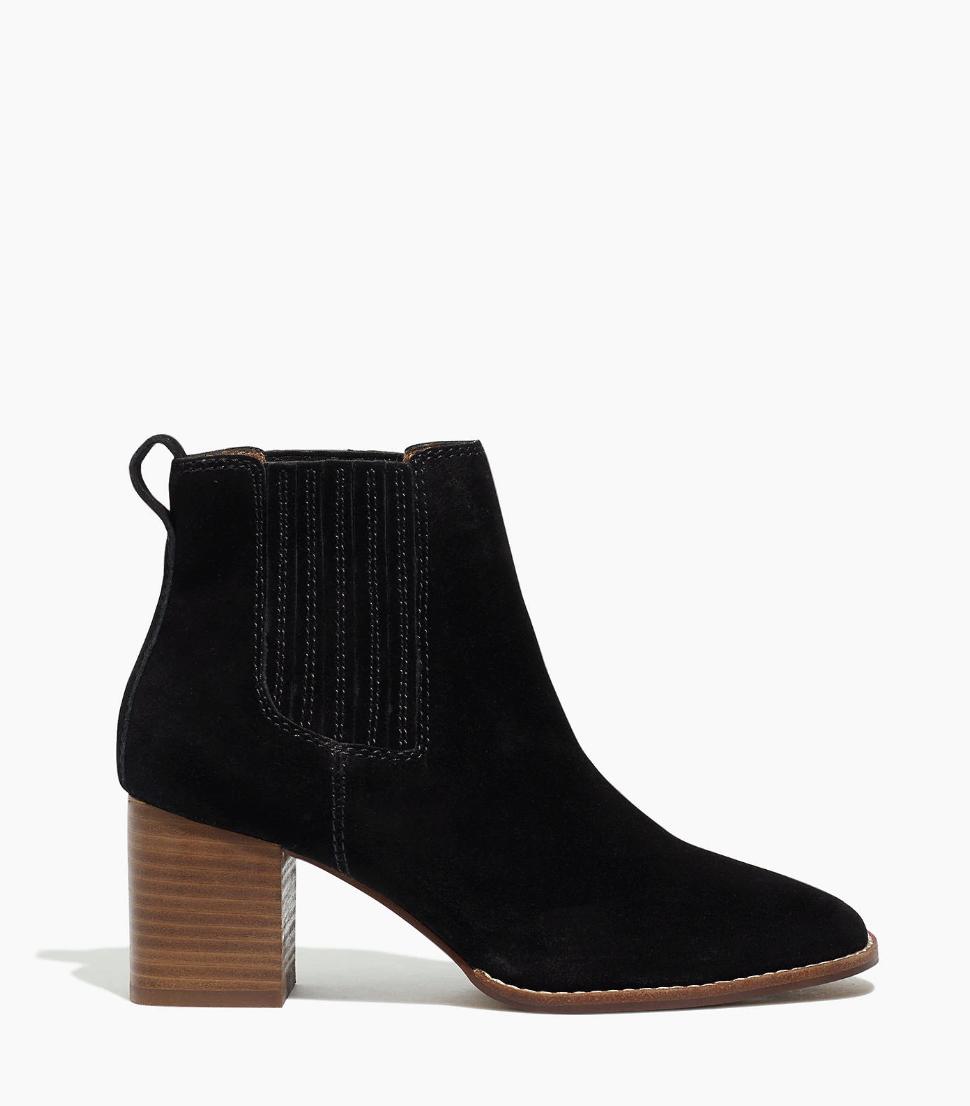 madewell black bootie