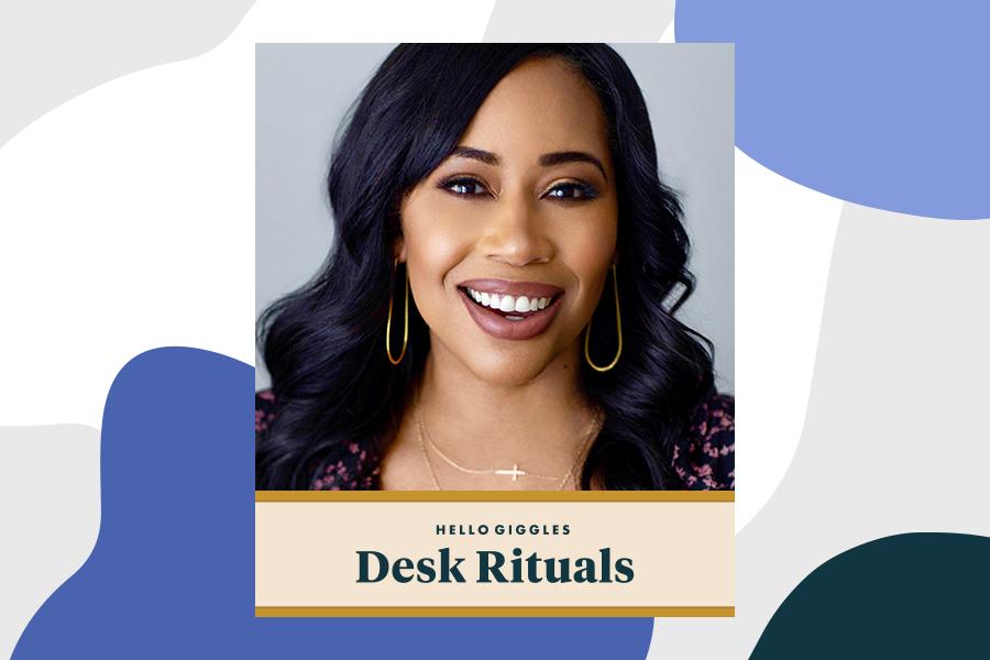 Desk rituals Christina M. Rice