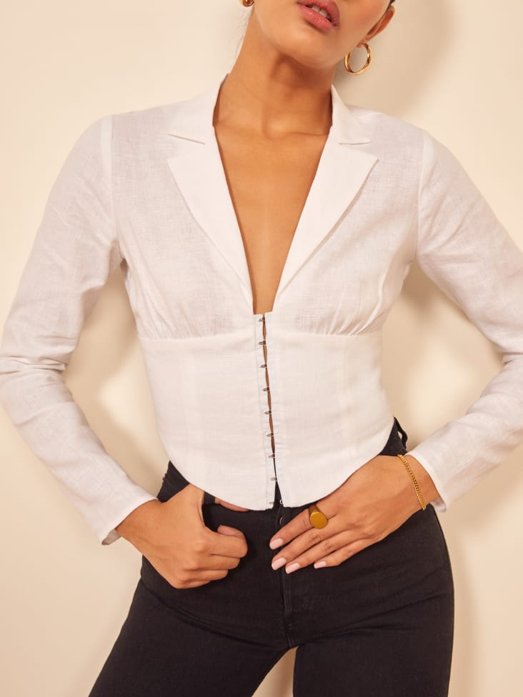 reformation strictly business collection vance top