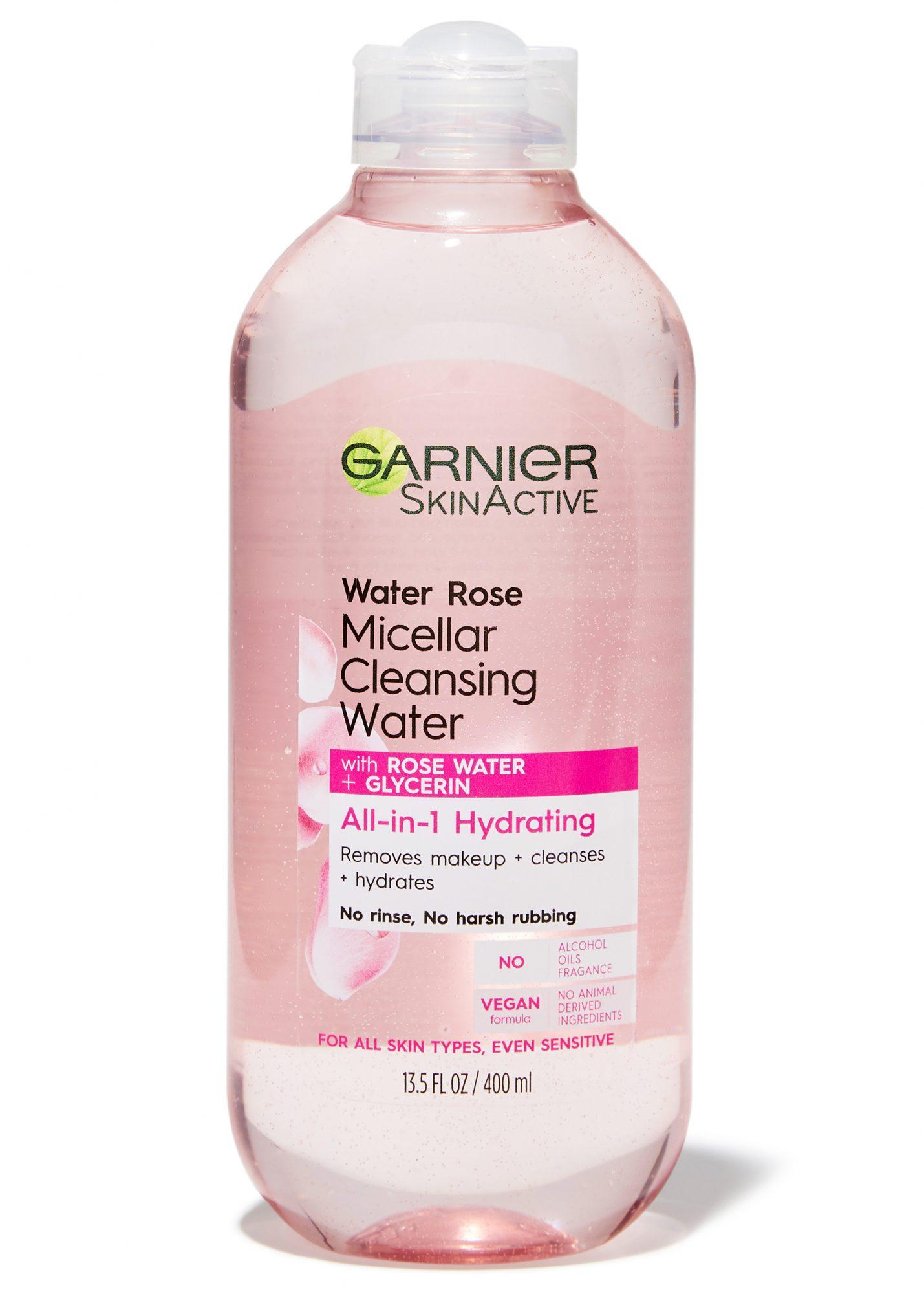 garnier micellar cleansing water best drugstore cleanser