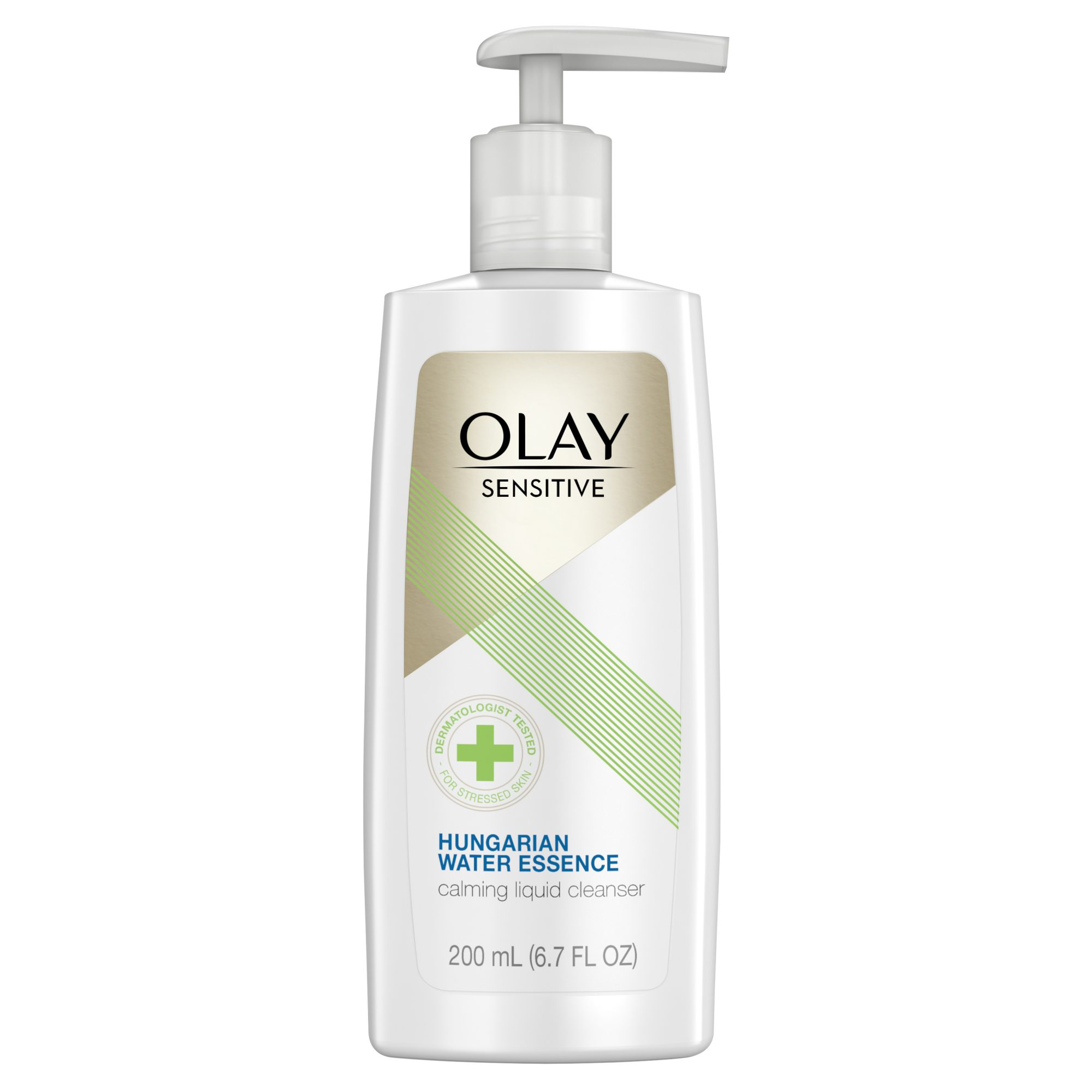 olay sensitive calming face wash drugstore cleanser