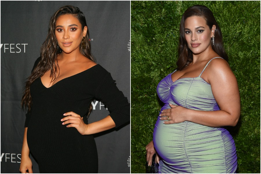 shay mitchell and ashley graham pregnant