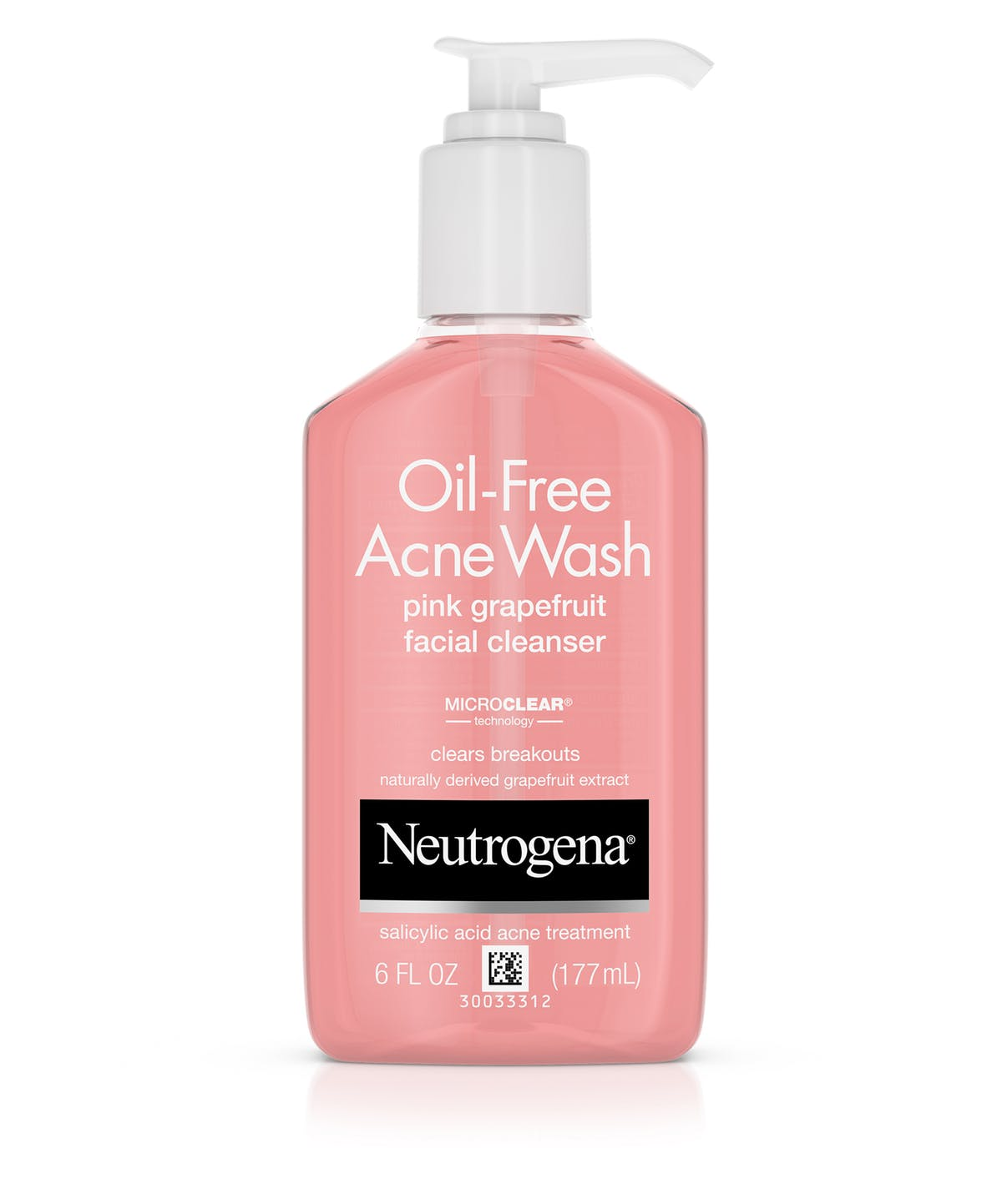 neutrogena oil free acne wash grapefruit drugstore cleanser