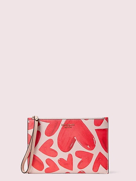 kate spade hearts wristlet in valentines day gifts