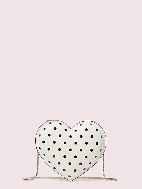 kate spade heart shaped bag