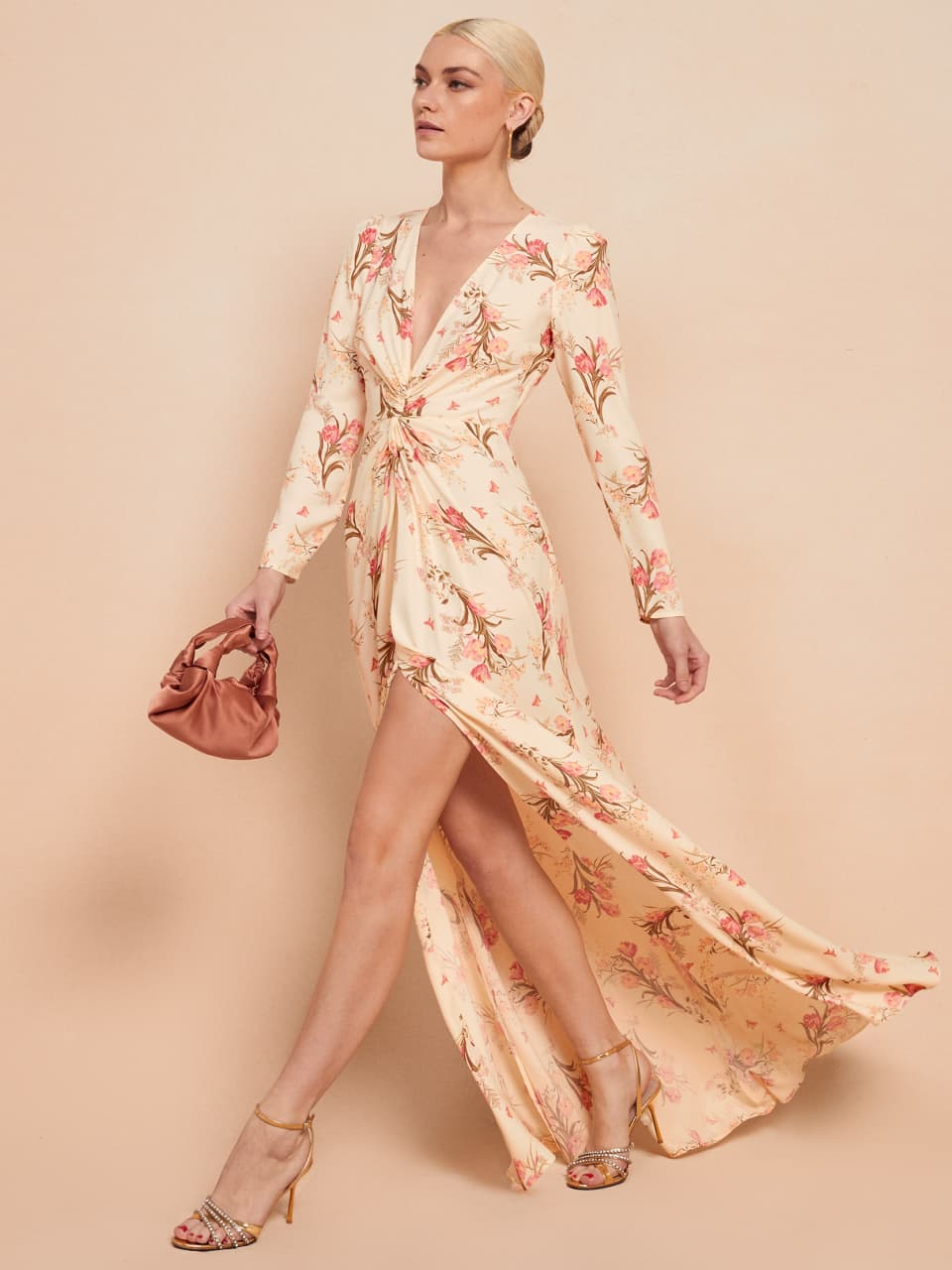 reformaiton gatsby floral dress