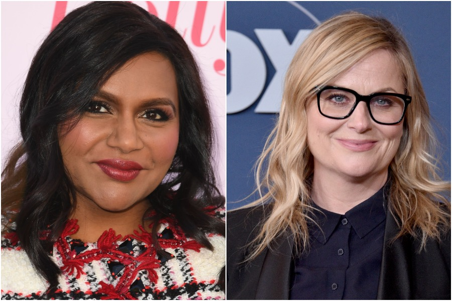 mindy kaling and amy poehler