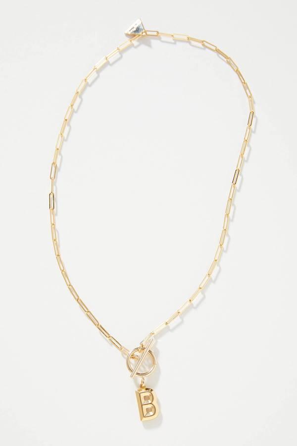 Kate Middleton Monogram Necklace