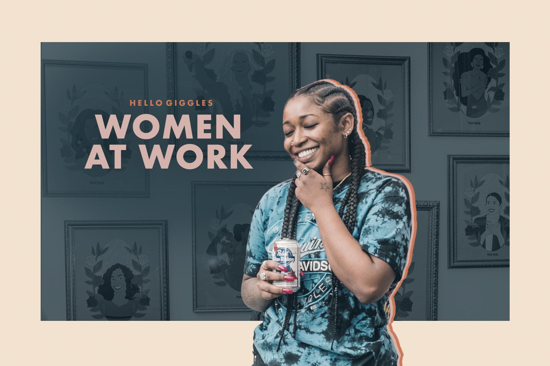 women at work trap bon
