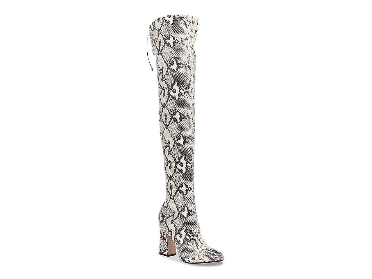 snakeskin-over-the-knee-boot