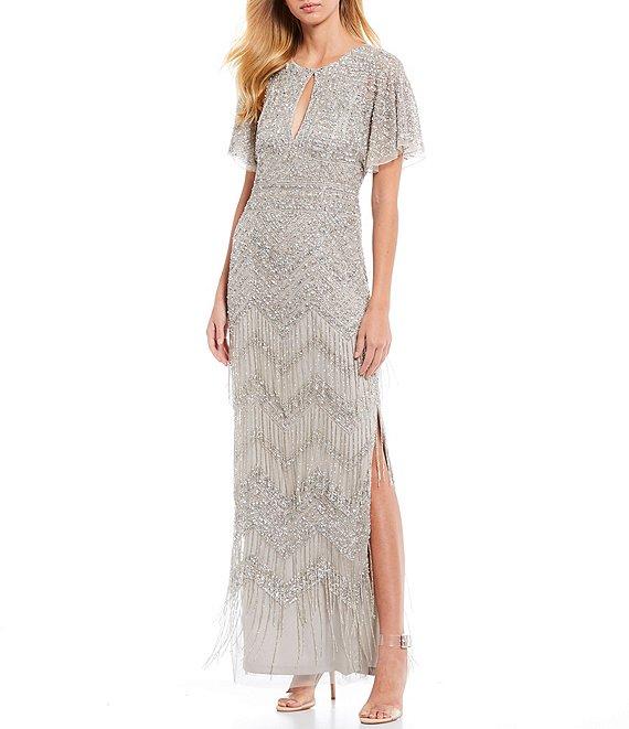 lana del rey dillards silver gown