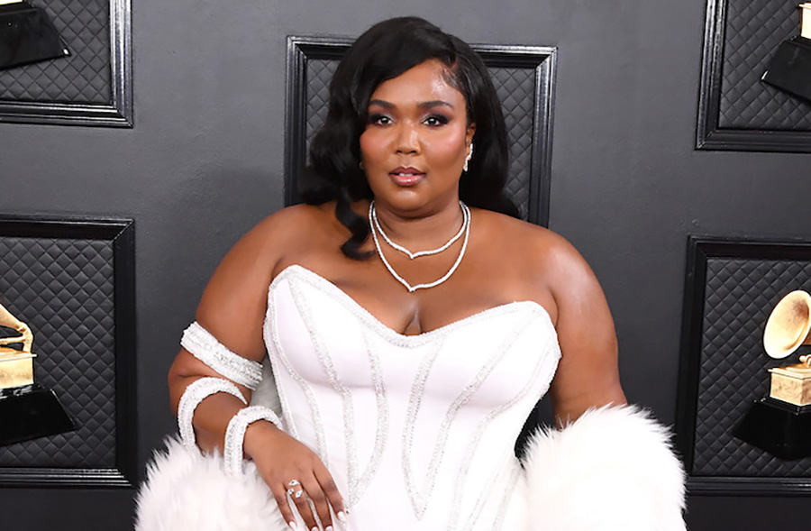 Lizzo 2020 Grammys Old Hollywood Hair