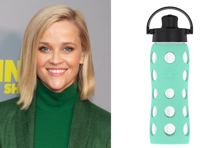 Reese WItherspoon Lifefactory Water Bottles