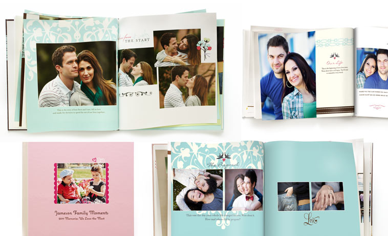 love language gifts, shutterfly photobook custom