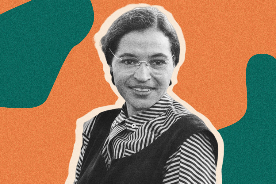 rosa parks black history month birthday