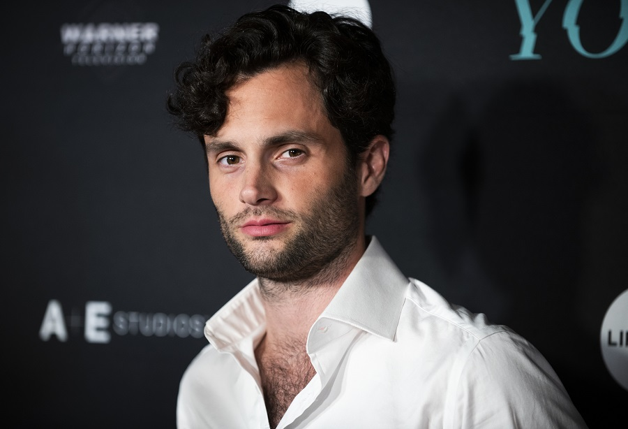 penn badgley at the YOU premiere