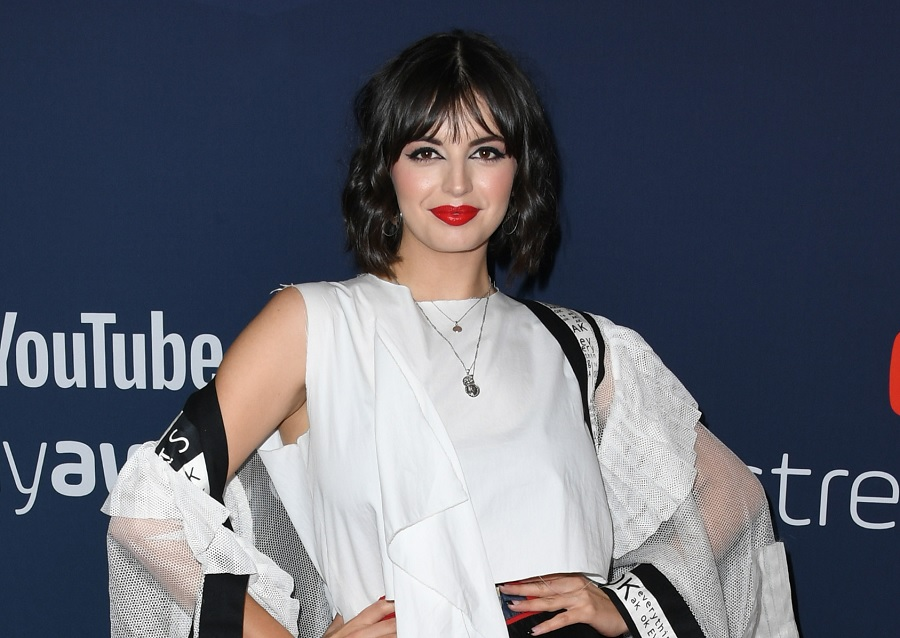 """rebecca black at the 9th anniversary of """"Friday"""" for YouTube"""