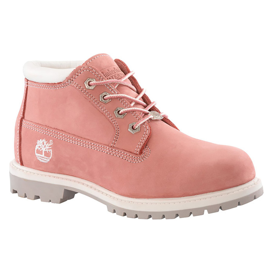 timberland-pink-shoes