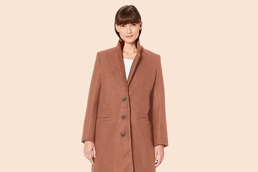 Amazon Essentials Camel Coat