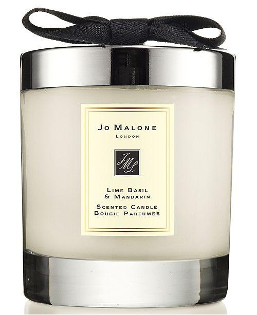 Jo Malone lime basil and mandarin home candle