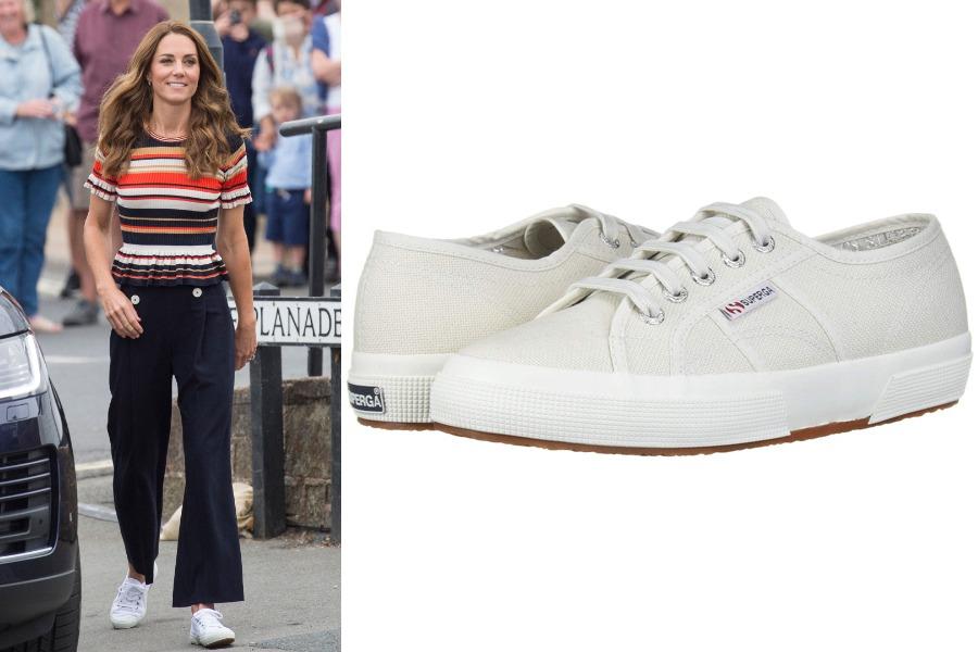 Kate Middleton Superga Sneakers