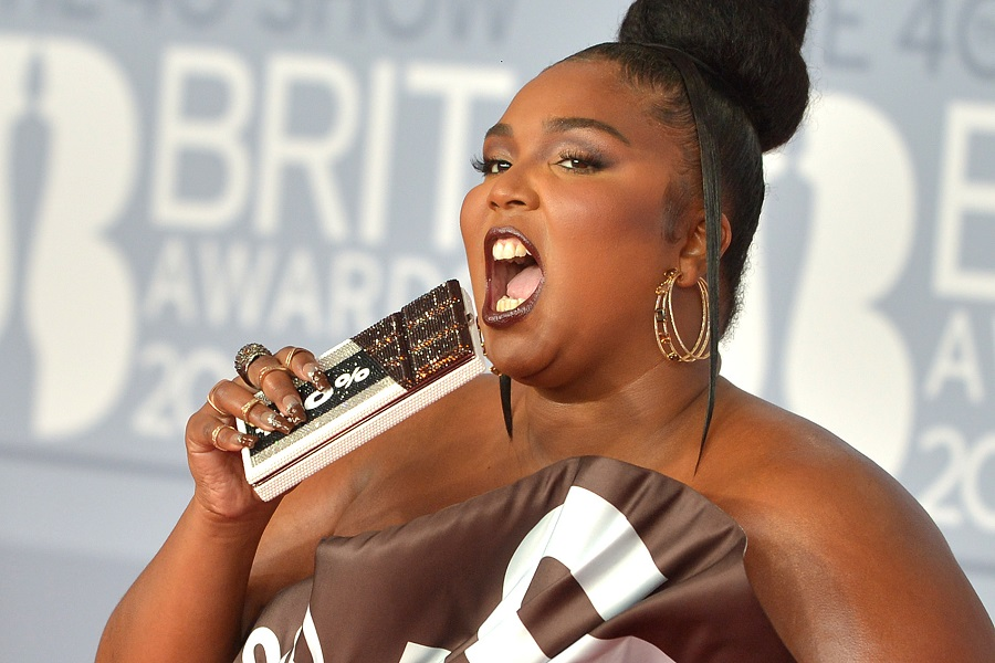lizzo at the brit awards 2020