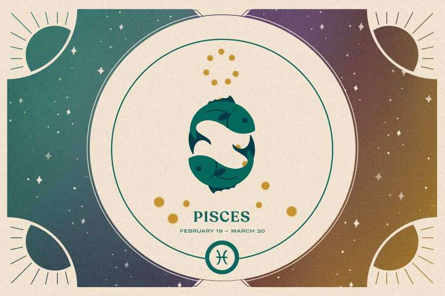 Pisces zodiac sign, twin fish, Pisces season