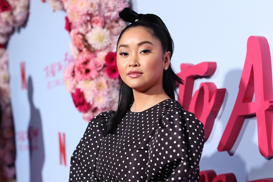 lana condor at the to all the boys i've loved before premiere
