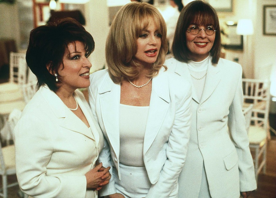 first wives club, diane keaton, goldie hawn, and bette midler