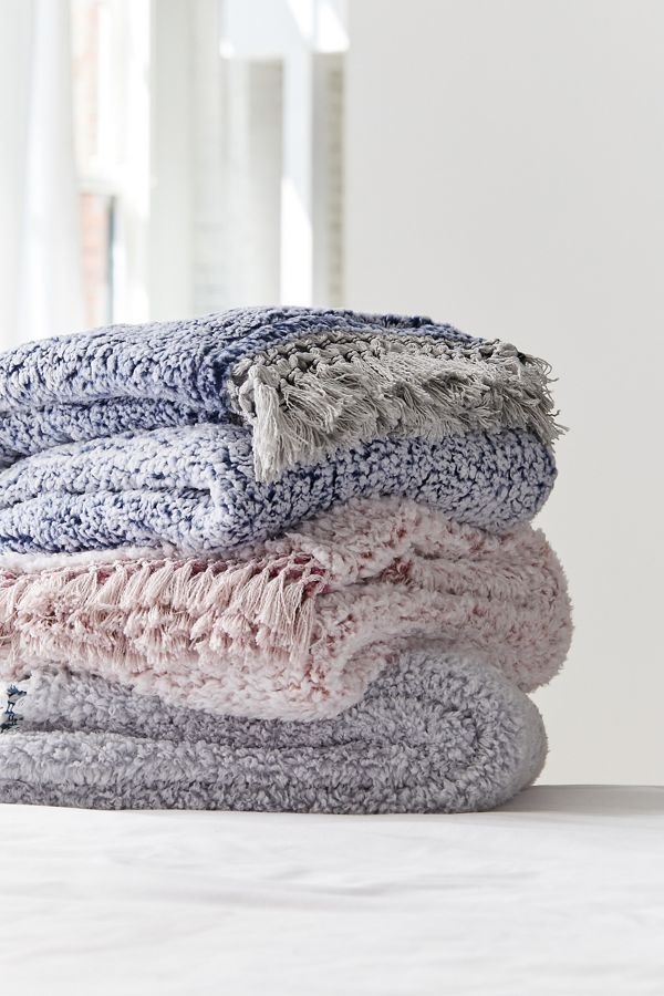 urban outfitters amped fleece frings trim throw blanket, urban outfitters home sale