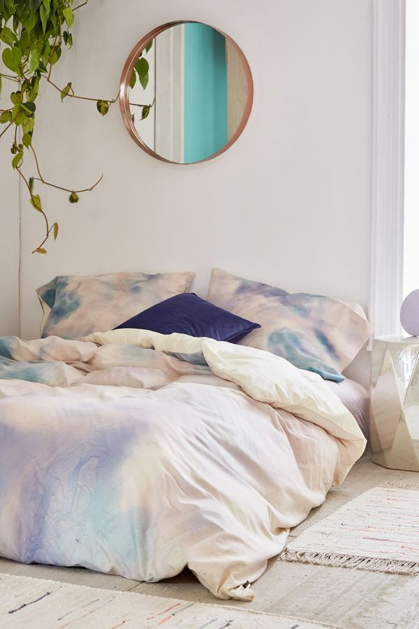urban outfitters pastel duvet cover, uo home sale