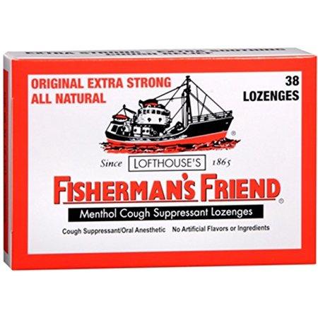 fishermans friend menthol cough suppressant