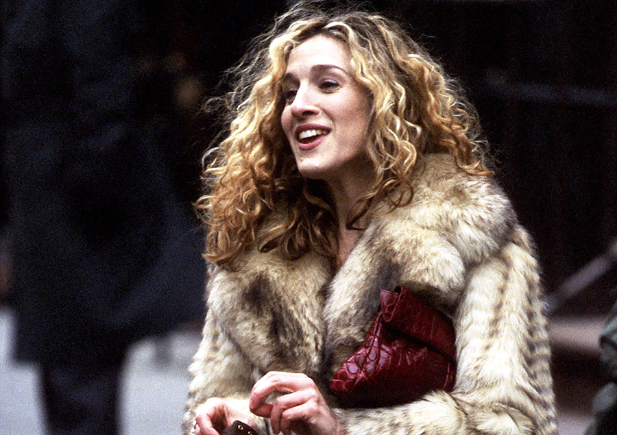 Carrie Bradshaw hair Sex and the City