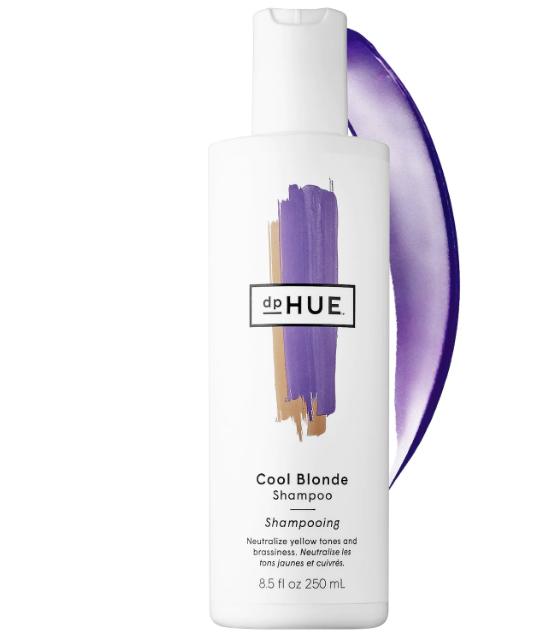 dphue purple shampoo, how to dye hair blonde