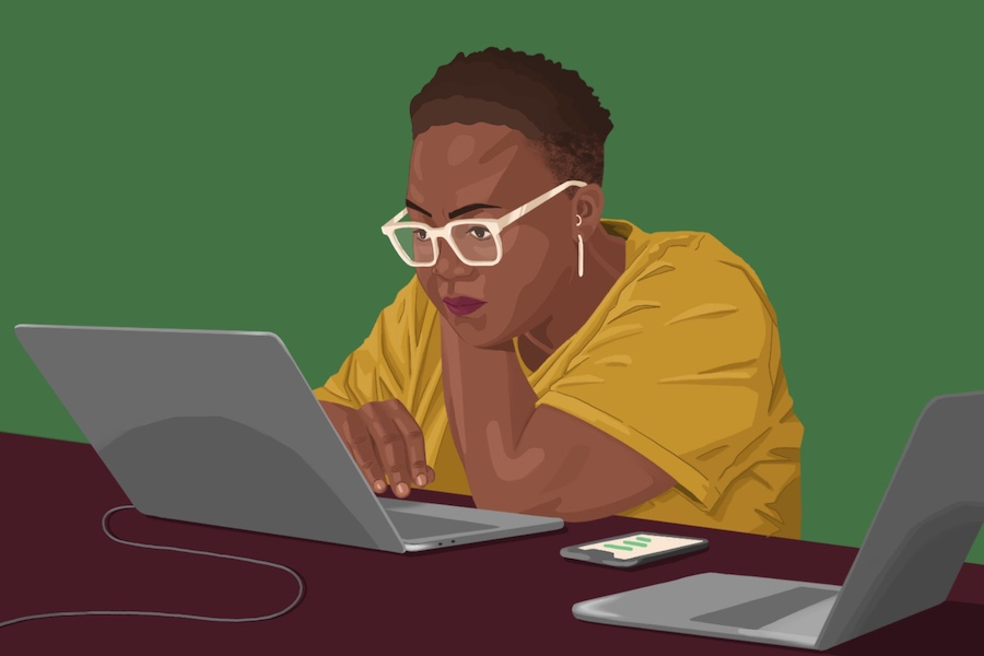 Black Women Freelancers, Mental Health, Gig Economy, Self-Care
