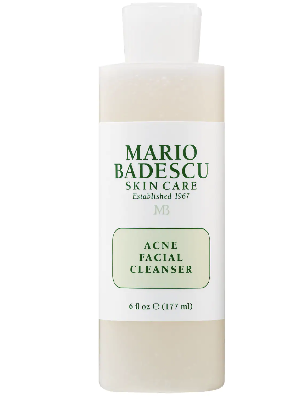 mario madescu acne facial cleanser with salicylic acid