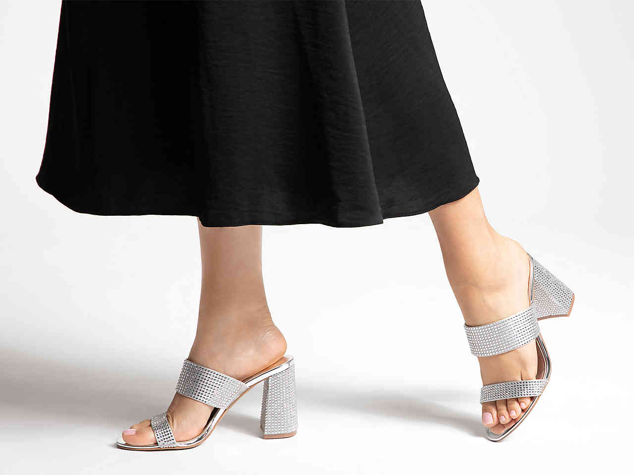 JLO Jennifer Lopez DSW Collection brita sandal sparkly sandals