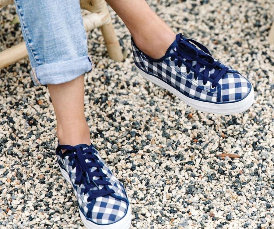 Keds x Draper James gingham sneakers